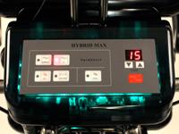 施術中に光るコントロールBOX